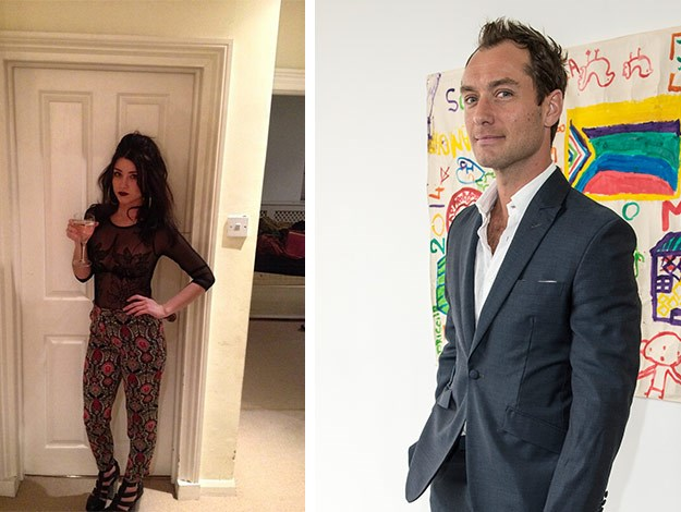 In mid october jude law announced that he will become a father for a