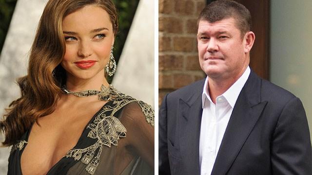 James Packer's $100k diamond Christmas gift to Miranda Kerr