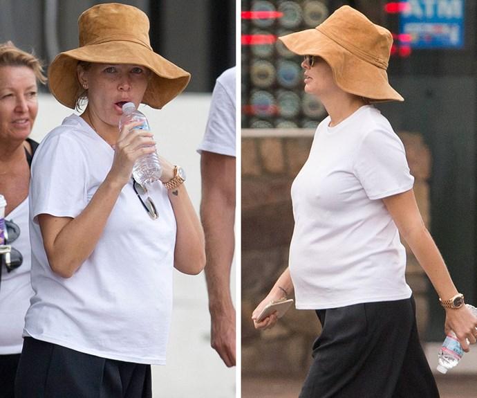Lara Bingle pregnant