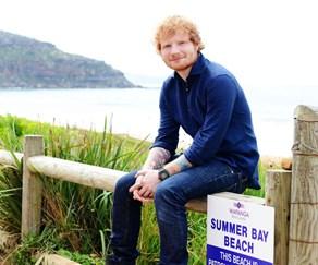Ed Sheeran Summer Bay
