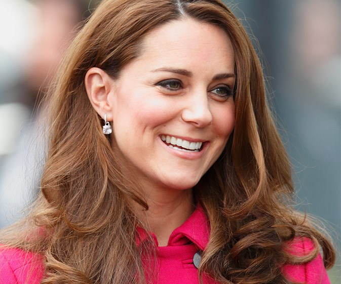 Duchess Catherine is convinced it's a girl!
