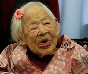 World's oldest person Misao Okawa