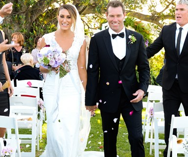 Bondi Rescue's Hoppo ties the knot!