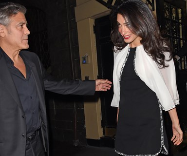 George and Amal Clooney's glamorous date