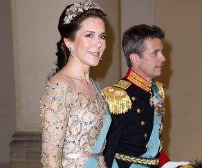 Crown Princess Mary of Denmark and Prince Frederik