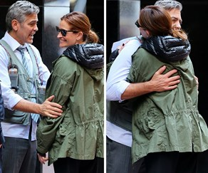 George Clooney and Julia Roberts