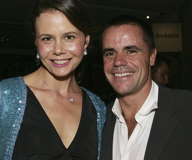Antonia Kidman and ex-husband Angus Hawley