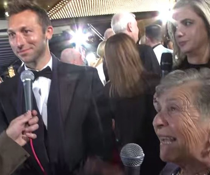 Ian Thorpe gives cute granny the cold shoulder