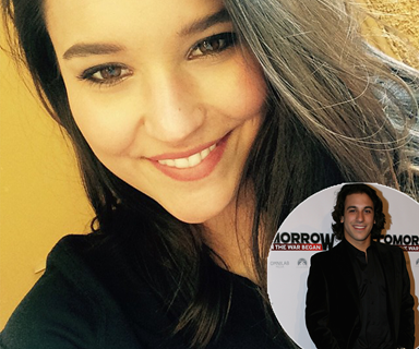 Has Rhiannon Fish moved on from Reece Mastin with Tomorrow When The War Began actor?