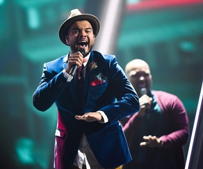 Guy Sebastian during rehearsal at Eurovision!