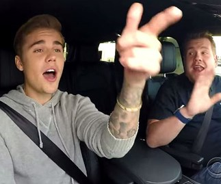 Justin Bieber on The Late Late Show with James Cordon