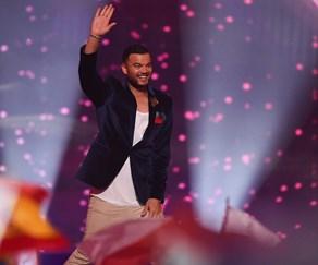 Guy Sebastian places FIFTH at Eurovision