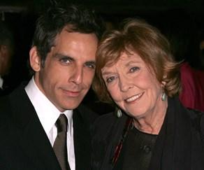 Anne Meara and her son Ben Stiller