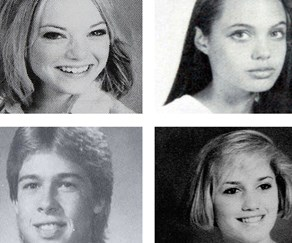 From Brad Pitt to Madonna, take a look at celebrities year book pictures!