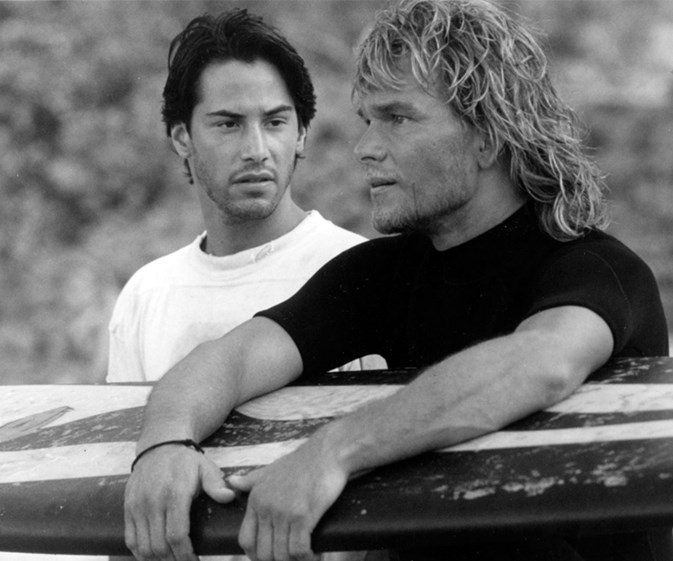 Surf's up! Watch the trailer for the Point Break remake
