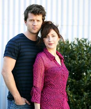 Emma Hamilton and Ryan O'Kane stars of Princess Mary biopic
