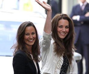 Pippa Middleton and Catherine, the Duchess of Cambridge