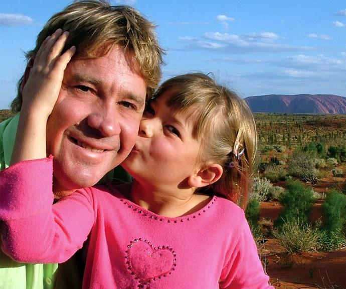 Bindi and Steve Irwin
