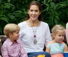 Princess Mary, Princess Josephine and Prince Christian.