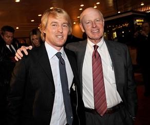 Owen Wilson and his dad Robert 'Bob' Wilson
