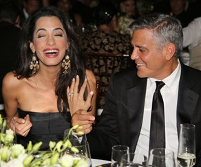 Celebrity engagement rings, Amal and George Clooney