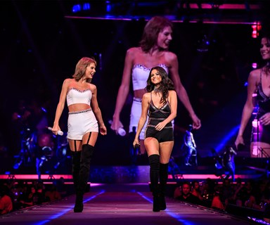 Taylor Swift has A LOT of friends and they're strutting their stuff at her star-studded 1989 World Tour