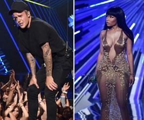 Justin Bieber and Nicki Minaj