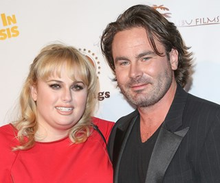 Rebel Wilson and Mickey Gooch Jr.