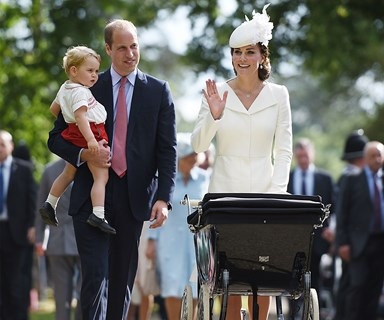 Prince William: 'Kate's an amazing mum'