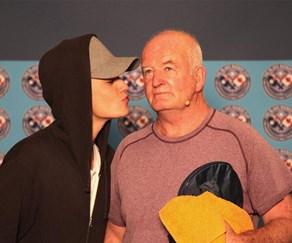 Justin Bieber and Noel Blake
