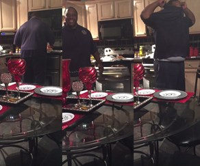 Woman surprises her husband with her AMAZING baby news