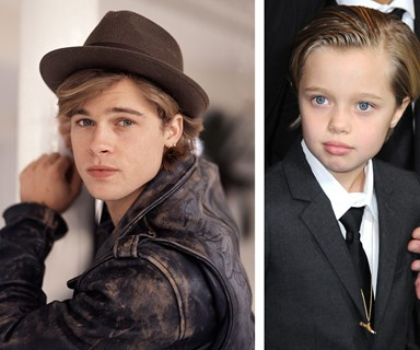 Like father, like daughter! Shiloh Jolie-Pitt is the spitting image of dad Brad