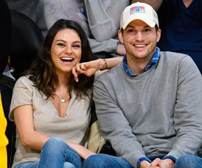 Ashton Kutcher shares an adorable photo of his daughter