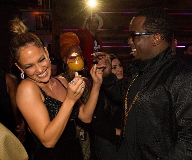 Hollywood's friendliest exes!