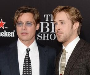 Brad Pitt and Ryan Gosling
