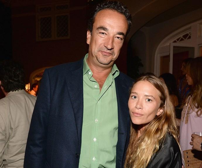 celebrity news ashley olsen dating george condo rumors divorce settled