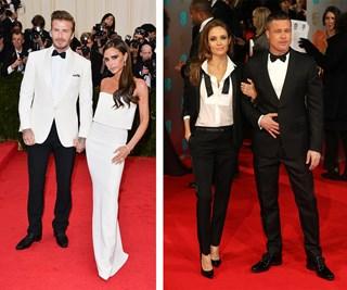 David and Victoria Beckham, Angelina Jolie and Brad Pitt