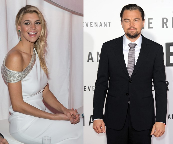 Leonardo DiCaprio and Kelly Rohrbach