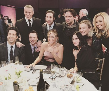 The time Friends had a banging time with the cast of Big Bang Theory