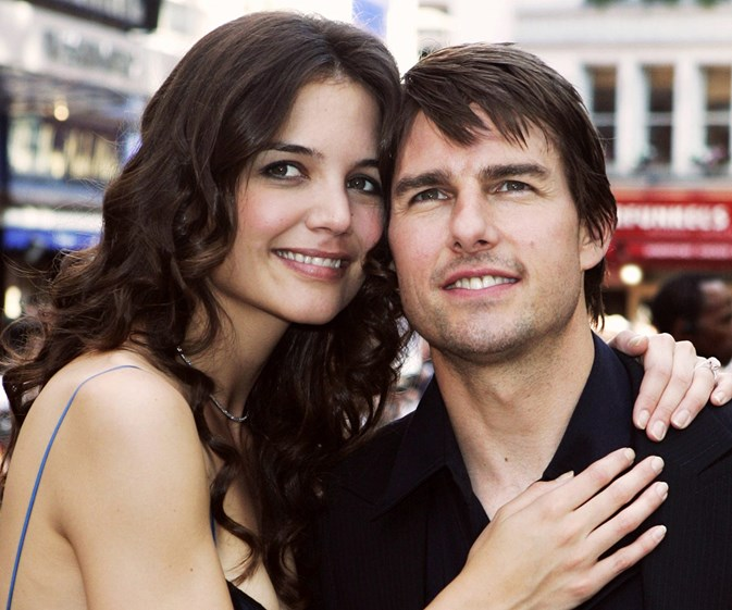Katie Holmes dodges the most awkward Tom Cruise question