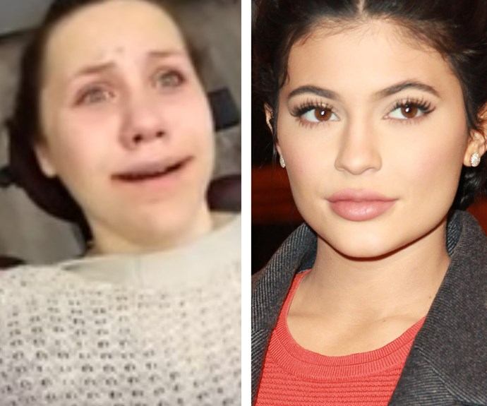 Kylie Jenner with Emma