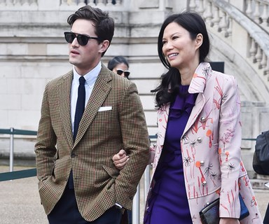 Rupert Murdoch's ex, Wendi Deng, steps out with new toyboy