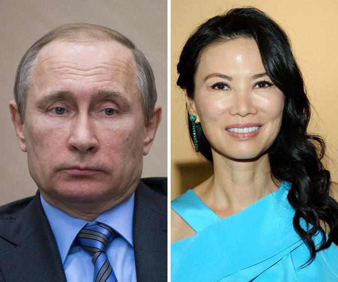 Is Rupert Murdoch's ex-wife Wendi Deng dating Vladimir Putin?