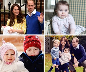 Princess Charlotte of Cambridge turns one