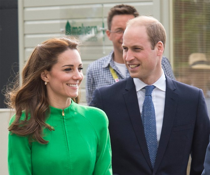 British Royal Family attend the Chelsea Flower Show