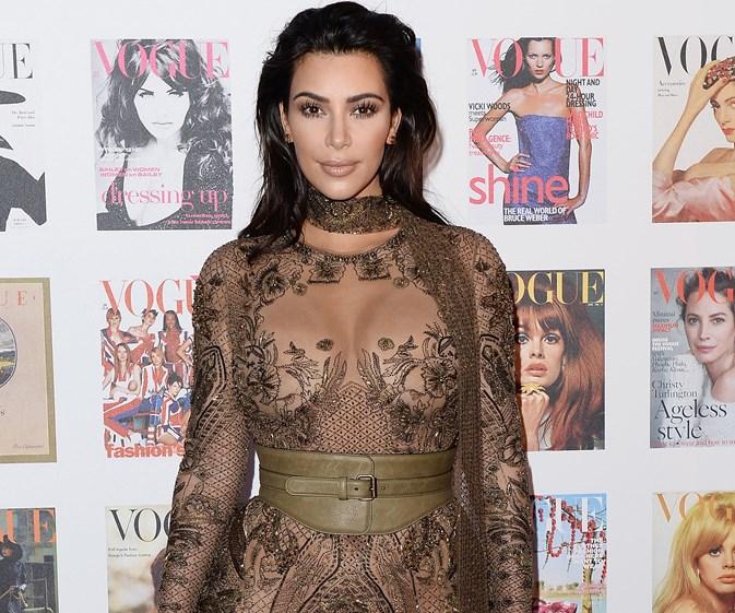 Kim Kardashian stuns at Vogue 100 Gala