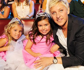 Sophia Grace Brownlee, Ellen DeGeneres,