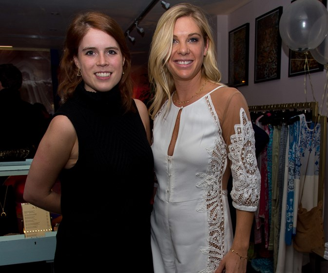 Chelsy Davy hangs out with Princess Eugenie