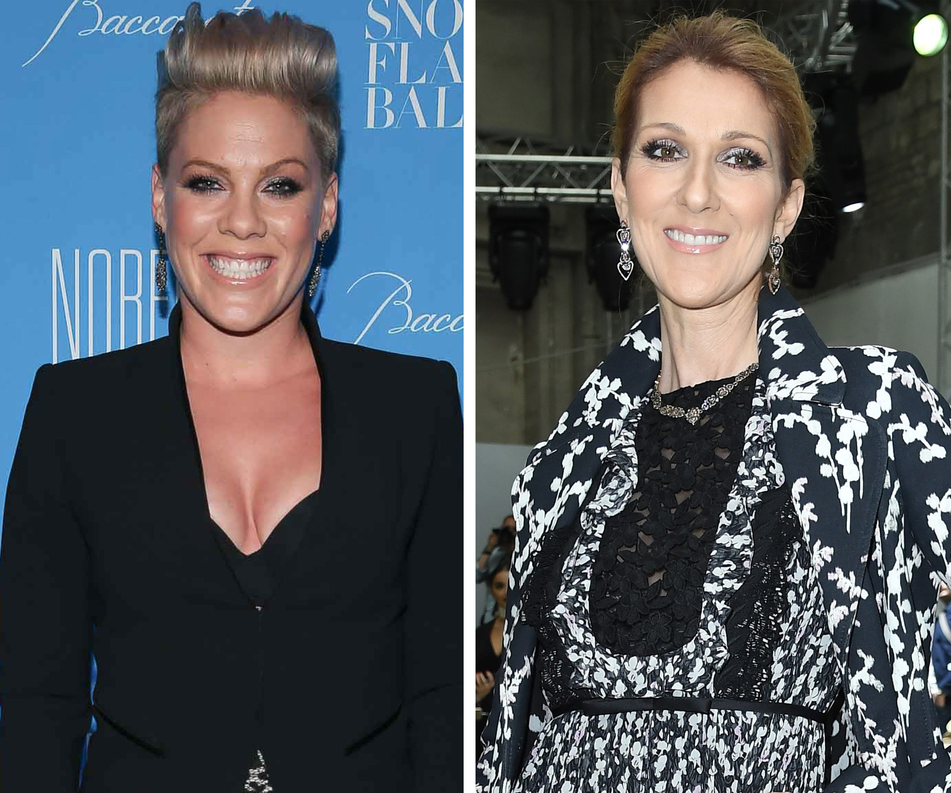 Celine Dion reveals how Pink has helped her with grief