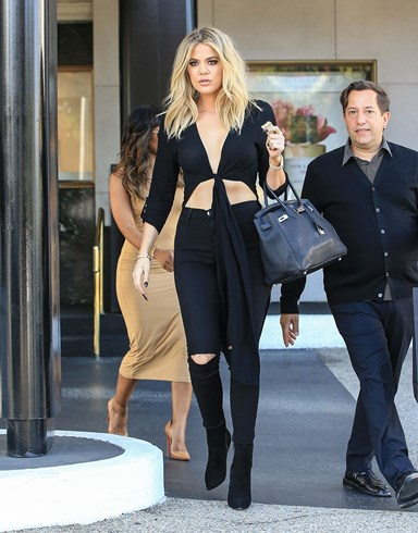 First she's too fat, now Khloe Kardashian is too thin